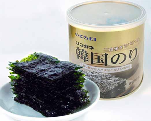 ソンガネ韓国のり(缶)