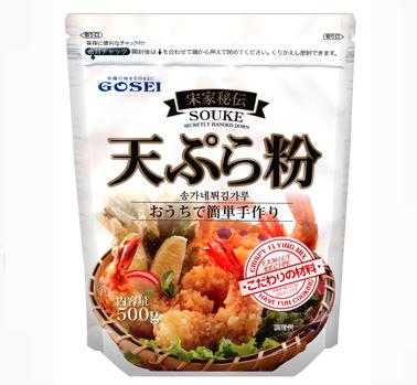 宋家秘伝 天ぷら粉 500g